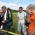 осмотр Андрюхиного подкапотного (Андрей на фото с права в оранжевой футболке)